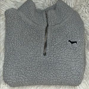 PINK Victoria's Secret Jackets & Coats - FUZZY SWEATER